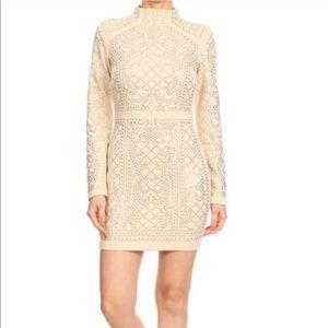 🎉New Arrival!!!🎉 Rhinestone Glam Dress